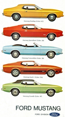 1973 Ford Mustang Range - Classic cars