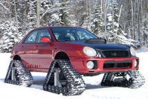 2002 Subaru WRX fitted with tracks. - Cars & Motorcyles