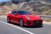 2018 Jaguar F-Type SVR Coupe - Sports cars