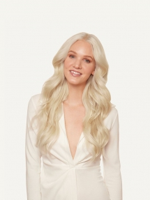 "20"" Seamless Platinum Blonde Clip-Ins - Fave beauty & hair ideas"