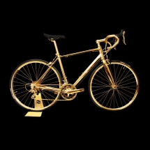 24K Gold Racing Bike - Latest Gadgets & Cool Stuff