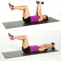 25 ways to tone your abs without crunches - Gotta get those abs!