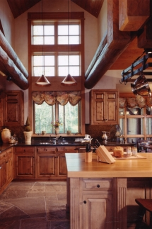 2 Story Kitchen Window - Dream Kitchens