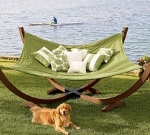 4-Pole Hammock From Pottery Barn - Christmas gift ideas for the Wife