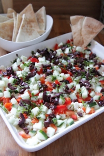 5 layer greek dip - Food & Drink