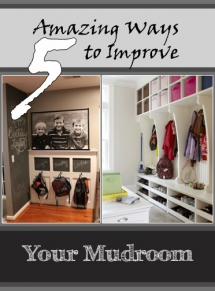 5 Ways to make your Mudroom more Functional - For The Home