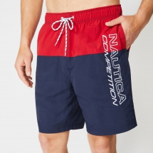 8'' Competition Colorblock Quick-Dry Swim Trunks - Men's Style