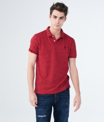 A87NY Stretch Pique Polo - Man Style