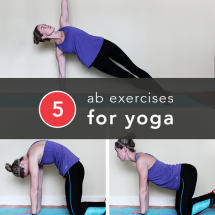 Ab exercises for yoga - Gotta get those abs!