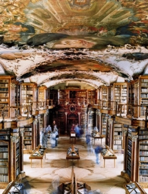 Abbey Library St. Gallen, Switzerland - Libraries