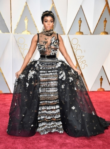 Adding flare to best dressed at Oscars - Fave Clothing