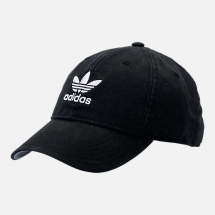 Adidas Originals Precurved Washed Strapback Hat - Hats
