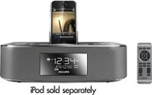 Alarm Clock Radio with iPod & iPhone Dock - Cool technology & other gadgets