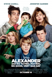 Alexander and the Terrible, Horrible, No Good, Very Bad Day - I love movies!