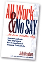 All Work & No Say - Books to read