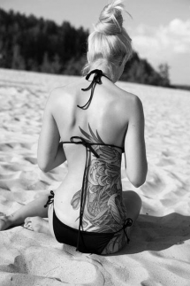 Amazing back tattoo - Tattoo ideas