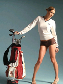 Anna Rawson - LPGA golfer and model  - Golfers