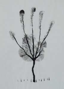 Artistic hand trees for all seasons - Awesome Art lessons