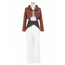 Attack on Titan Stationed Corps Rosa rugosa Uniform Cosplay Costme -  Attack On Titan costumes