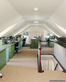 Attic office space - Home Office