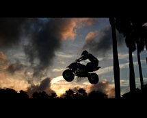 ATV Gets Some Air. - Cars & Motorcyles