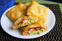 Avacodo, Cream cheese and Salsa Pockets - Recipes