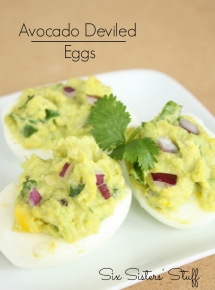Avocado Deviled Eggs - Favorite Recipes