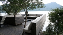 Awesome Modern Deck Garden - Gardens