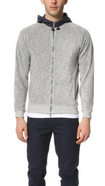 Baartmans and Siegel Delrio Terry Zip Sweatshirt - Hoodies