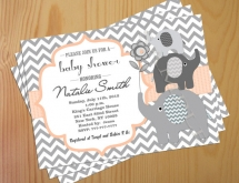 Baby shower invitations - Party ideas