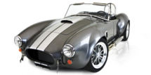 Backdraft RT3B Custom Cobra Kit Car - Vintage Inspired Cars