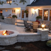 Backyard patio idea - Backyard ideas