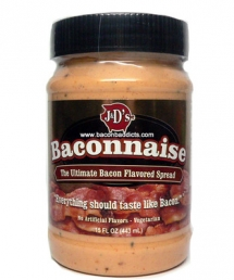 Baconnaise - bacon flavored mayonnaise - Bacon makes it better
