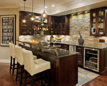 Basement bar - Dream Kitchens