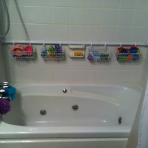 Bathtub Toy Storage - Household Tips