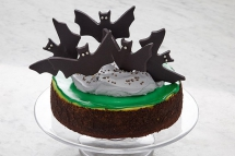 Batty Chocolate Mint Cheesecake - Desserts