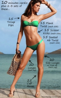 Beach Body Workout - Fitness and Exercise