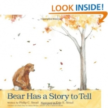 Bear Has a Stoy to Tell - Children's books