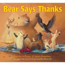 Bear Says Thanks - Children's books