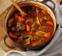 Beef & Vegetable Casserole - Tasty Grub