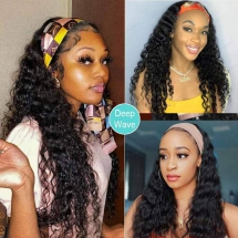 Best Headband Wigs Human Hair For Curly/Weavy/Straight Hair-AshimaryHair.com - Party ideas