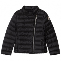 Black Amy Padded Jacket - For the kids