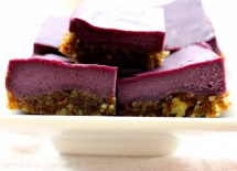 Blackberry Cheesecake Bars recipe - Dessert Recipes
