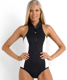 Block Party Scuba Maillot  - Swimsuits