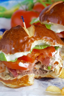 BLT Ranch Burgers - Tasty Grub