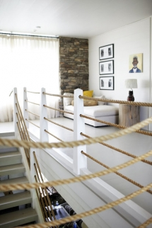 Rope Railings - Ideas for the home