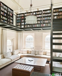 Library in your home - Dream house designs