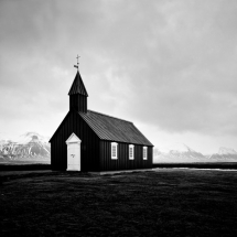 Chapel with mountain backdrop - Fantastic shots