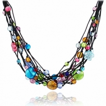Beaded Necklace - Jewlery making ideas