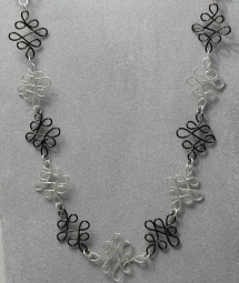 Wire Necklace - Jewlery making ideas
